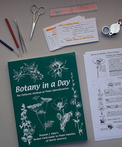Tools for learning botany.